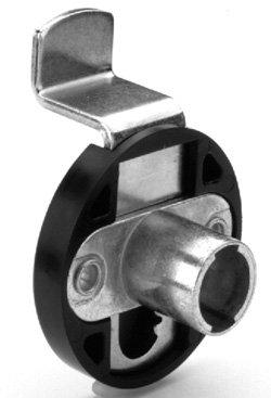 Deadbolt Lock Body, zinc, right hand/left hand, offset 15mm