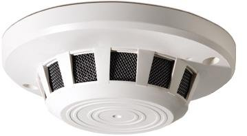 GE SECURITY GBC-SD-850-P3 – COVERT HIDDEN SURVEILLENCE CAMERA – NANNY CAMERA – SMOKE DETECTOR STYLE color 1/3″ CCD, 350 TVL , WHITE