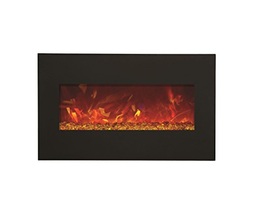 Amantii Advanced Series Wall Mount/Built-in Electric Fireplace, 28-Inch