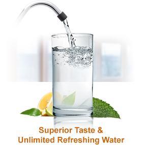 Superior Taste & Unlimited Refreshing Water