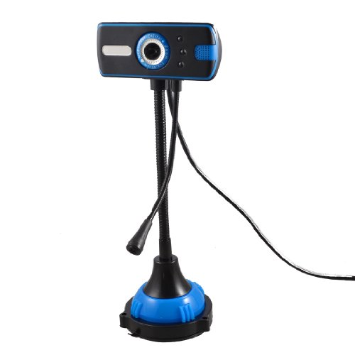 PC Laptop USB 3 LED 5000K Pixel Webcam Web Cam Camera witt Microphone