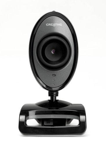 Creative Live! Cam Video IM Pro VF0230 1.3MP (Interpolated) USB 2.0 Webcam & Behind-the-Head Headphones w/Boom Microphone