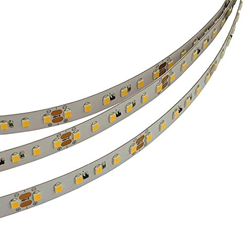LEDwholesalers 24-Volt High Output UL 16.4-Feet Flexible LED Strip with 600xSMD2835, Warm White, 20214WW