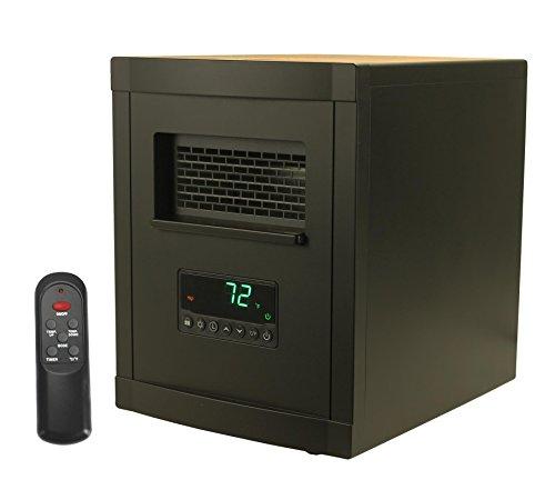LifeSmart LS-1002HH 1200 Square Foot Portable Electric Infrared Quartz Heater, Black Reviews