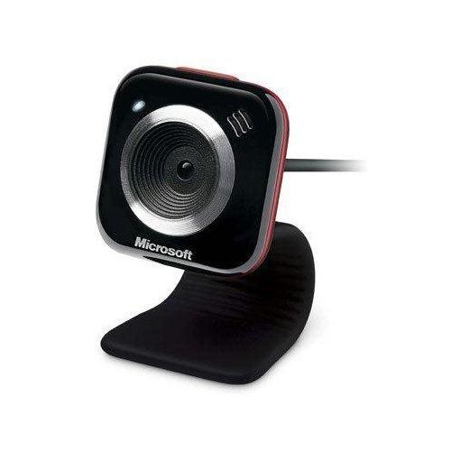 Microsoft LifeCam VX-5000 Webcam  (Red Accent)
