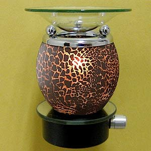 Plug-in Oil Warmer Night Light – Leopard Animal Print