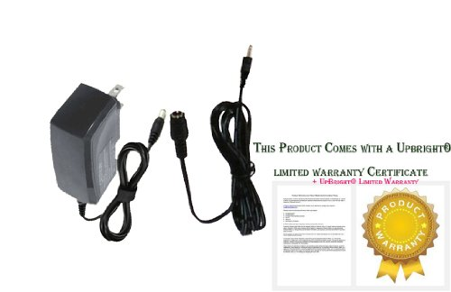 UpBright® NEW AC/DC Adapter For AXIS IP Network Security Camera Web Cam (with 12V DC IN) Power Supply Cord Charger PSU + Cable (Note: If you need more long extension power cord cable, please contact us for help. Thanks.)