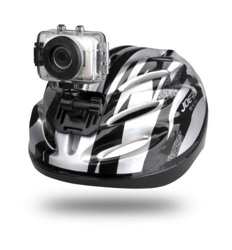 Gear-Pro High-Definition Sport Action Camera, 720p Wide-Angle Camcorder With 2.0 Touch Screen – SD Card Slot, USB Plug And Mic – All Mounting Gear Included – For Biking, Riding, Racing, Skiing And Water Sports, Etc.