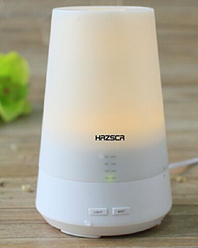 Advance Stylish Ultrasonic Aromatherapy Essential Oil Diffuser. 7 Calming Mood LED Lighting. Mini Portable Essential Oil Burner with 4 Timer Setting. Work As Air Humidifier & Air Freshener By Generating Cool Mist. Quiet and Relaxing. 180 Days Replacement Warranty! Reviews