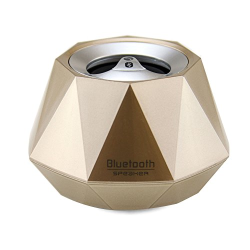 LB1 High Performance New Wireless Bluetooth Mini Speaker for Toshiba Satellite M305D-S4830 (AMD Turion X2 Ultra ZM-80 Dual-Core processor 2.1 GHz speed processor 4 GB DDR2 SDRAM 250 GB hard drive 14.1″ LCD+Web Cam DVD±RW DL Labelflash ATI Radeon 3100) Diamond Bluetooth Speaker with Built-in Microphone for Hands-Free Phone Call (Gold)