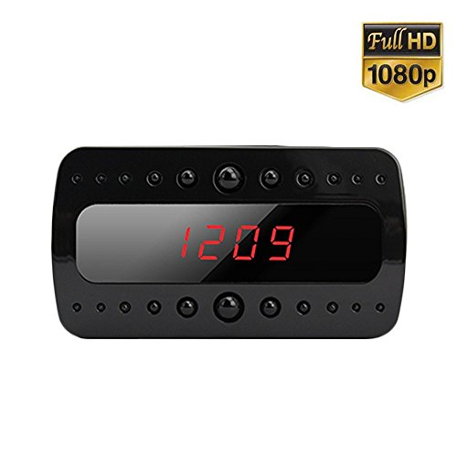 Manny 1080p Hd Mini Children's Alarm Clock Hidden Spy Camera with Night Vision and 1 Year Warranty Reviews