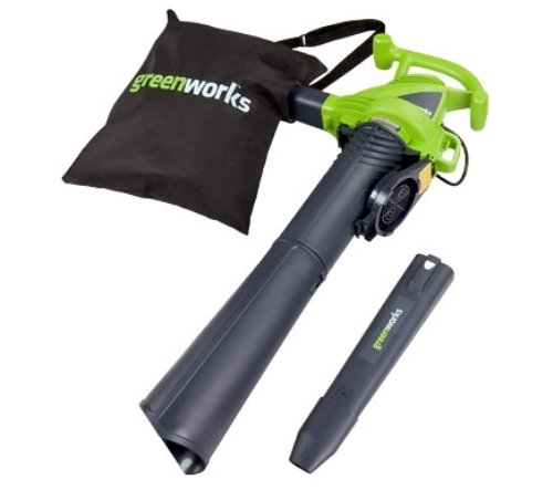 GreenWorks 24072 12 Amp Variable Speed Corded Blower/Vac