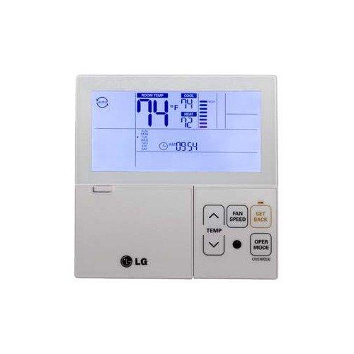 LG PREMTB10U Thermostat, Multi-V Wired 7-Day Programmable – White