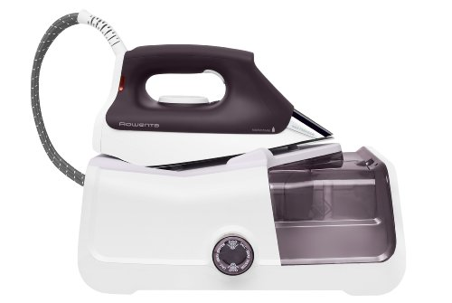 Rowenta DG8430 Pro Precision Steam Station with 400-Hole Stainless Steel soleplate, 1800-Watt, Purple