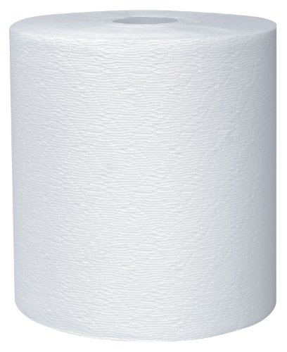 Kleenex Hard Roll Paper Towel (50606) White, 1.75″ Core, 8″ Width x 600′ Length (Case of 6)