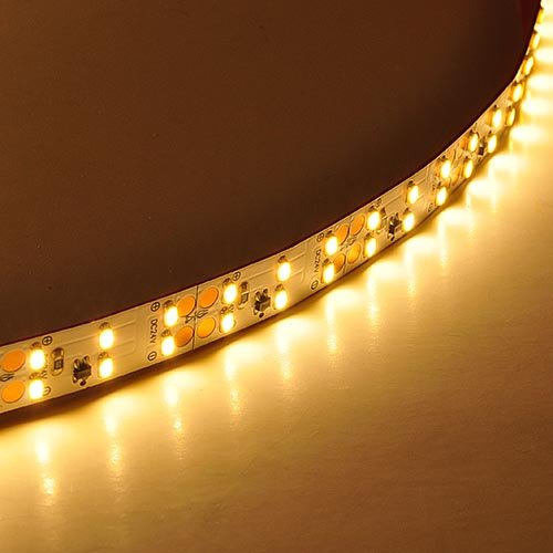 LEDwholesalers UL Super Bright 8-Feet Flexible LED Strip with 540xSMD3014, Warm White, 20209WW