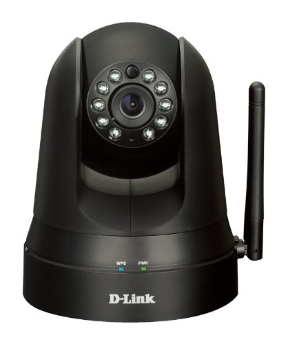 D-Link Wireless Pan & Tilt Day/Night Network Surveillance Camera with mydlink-Enabled (DCS-5010L)