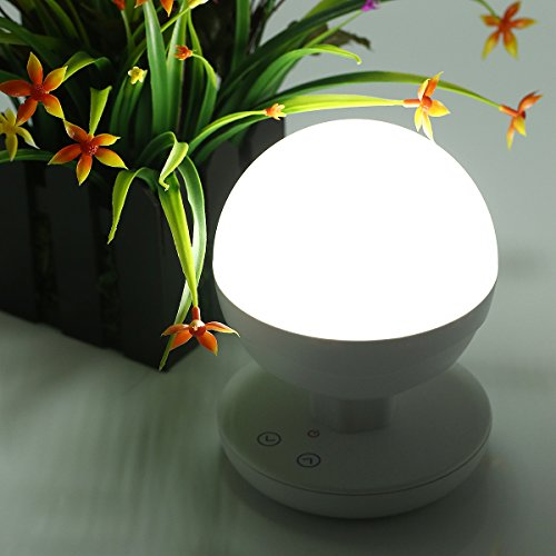 LEPOWER™ Multifunctional Intelligent LED Moving Light, Built-in 2200mAh High Capacity Lithium Battery, Stepless Fingerprint Touch Night Lights for Home Indoors and Outdoors