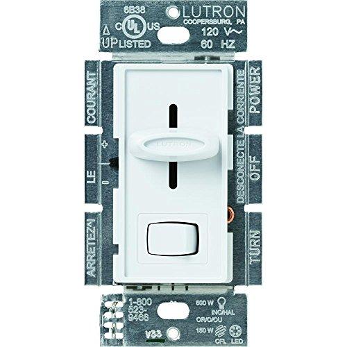 Skylark 150-Watt Single-Pole/3-Way Preset CFL-LED Dimmer – White
