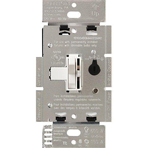 Toggler 150-Watt Single-Pole/3-Way Preset CFL-LED Dimmer – White