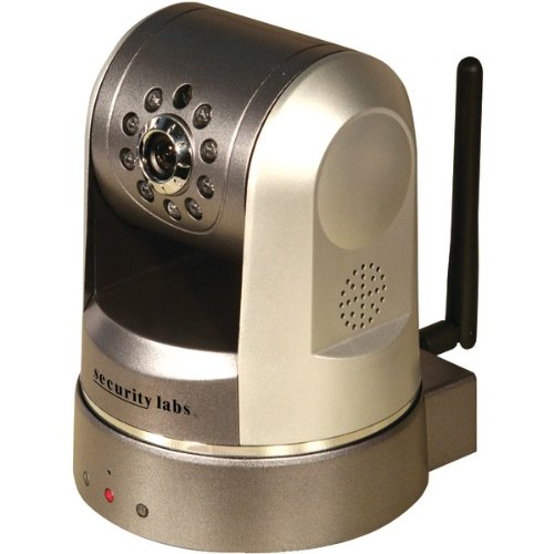"""Security Labs Wireless Motorized Pan & Tilt Ip Camera """"Product Category: Security Cameras & Accessories/Color Security Cameras"""""""