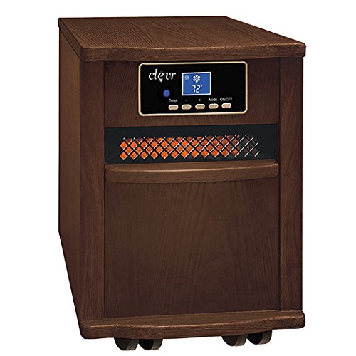 Clevr Portable Electric 1500w Infrared Heater Quartz w/ Remote comfort life Reviews