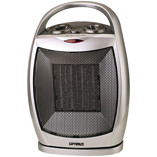 Optimus H-7247 Portable Oscillating Ceramic Heater with Thermostat Reviews