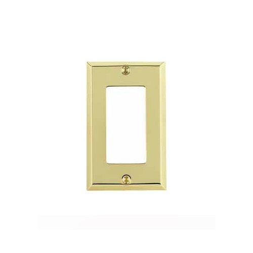 Baldwin 4754 030 Cd Classic Square Beveled Edge Single
