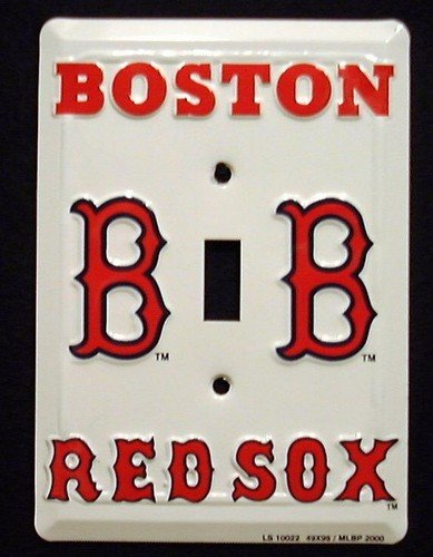 Red Sox String Lights : Boston Red Sox Light Switch Cover (single) Bulbs & Fittings Ideas