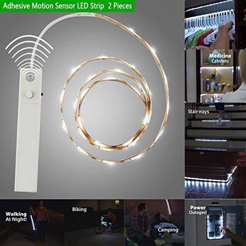 Brightu 1 Meter Adhesive Motion Sensor Led Strip Lights
