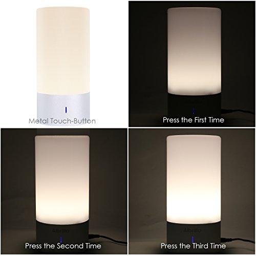Lighting Basement Washroom Stairs: Deckey LED Night Light Smart Light 8 ColorsTouch-Sensitive