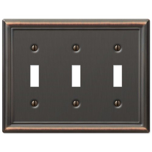 Decorative Wall Outlet Plates : Decorative wall switch outlet cover plates oil rubbed