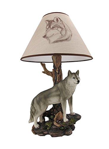 Denizen Of Twilight Wolf Table Lamp Bulbs Amp Fittings Ideas