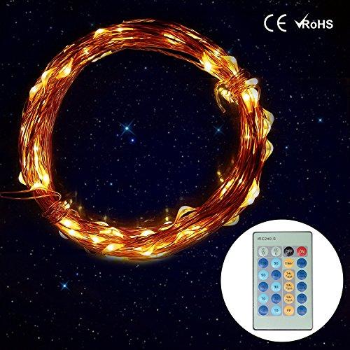 Wishworld Outdoor Solar Fairy String Lights Waterproof