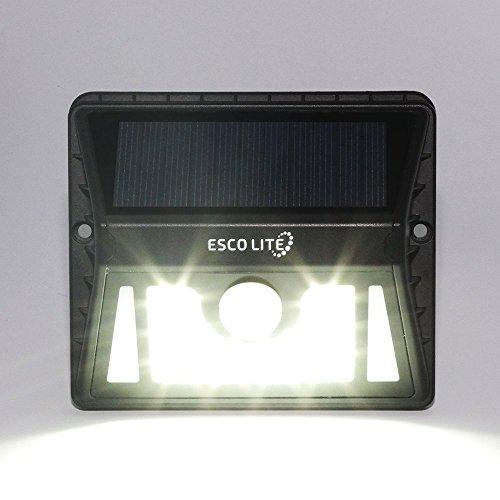 Escolite Solar Lights Power Security Light 8 LED Garden