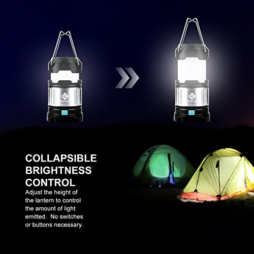 Etekcity 2 Pack Portable Rechargeable Led Camping Lantern