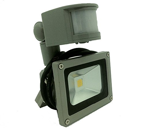GLW® 10W 12V AC or DC 700lm LED Motion Sensor Flood Light ...