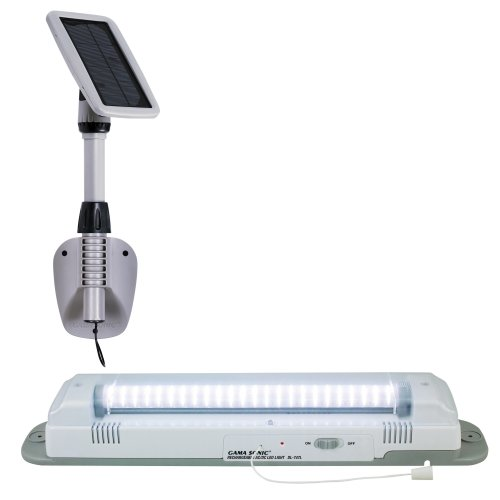 Gama Sonic Light My Shed III Solar LED Shed Light Fixture