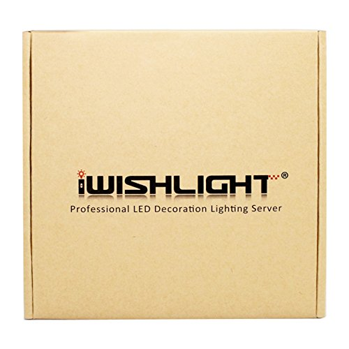 IWISHLIGHTTM 20M 4Rolls 656FT Waterproof IP67 LED RGB