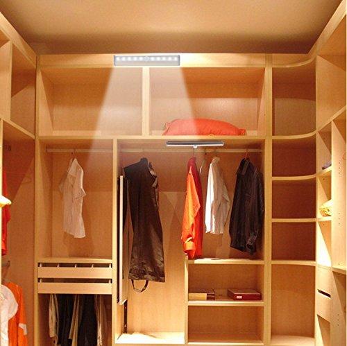 Jjmg 2 Pack Warm White 10 Led Motion Sensing Closet Light