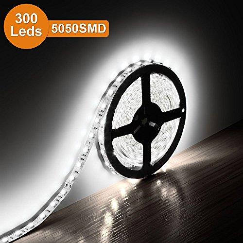 Le 174 12v Flexible Led Strip Lights 6000k Daylight White
