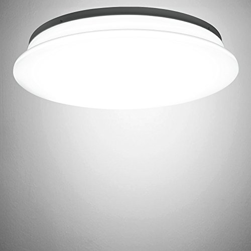 Dimmable Led Ceiling Light Fixture: LE® 40W Dimmable Daylight White 19.3-Inch LED Ceiling