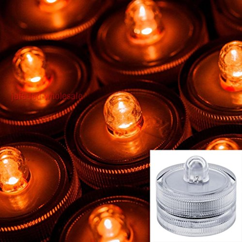 Lily S Home Submersible Battery Led 10 Lights Amber