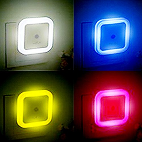 Mudder 4 Pack Led Night Light With Automatic Dusk To Dawn