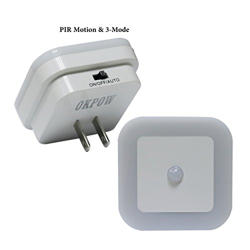 bathroom touch sensitive light switch okpow light pir amp motion sensor 3 mode portable led 22440