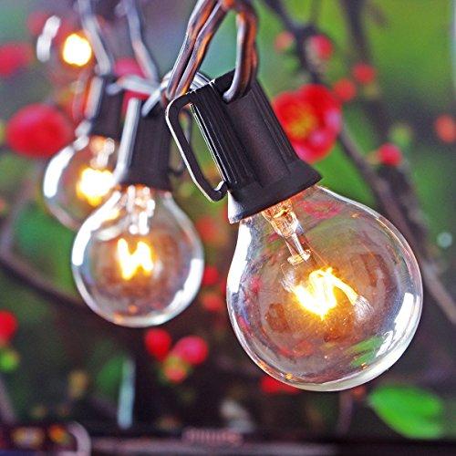 Corbett Lighting Party All Night: Patio Lights Party String Lights G40 Globe Bulbs Warm