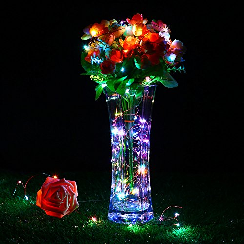 Dimmable Outdoor Patio Lights: RGB Color Changing String Lights, EasyDecor Dimmable