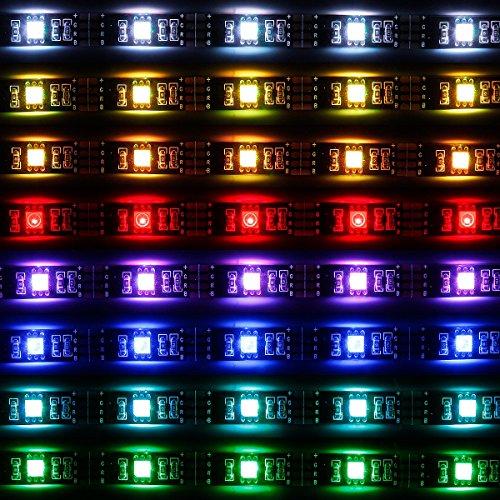 Linca Hd Led Kitchen Under Cabinet Strip Light: SUPERNIGHT 5050 RGB USB LED Light Strip Kit Flexible