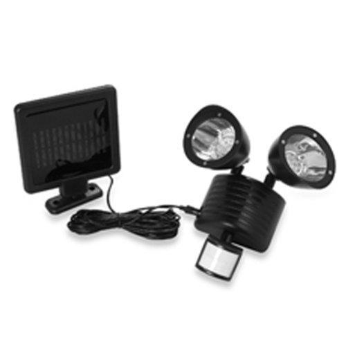 Best Garage Flood Lights: Solar Powered Motion Sensor Light 22 LED Garage Outdoor