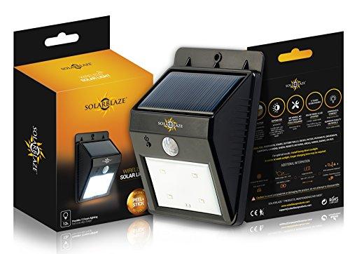 Solarblaze Bright Solar Powered Outdoor Led Light No
